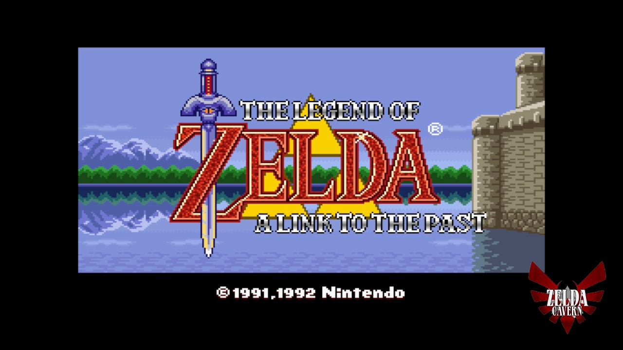 More LttP 2: Title Screen