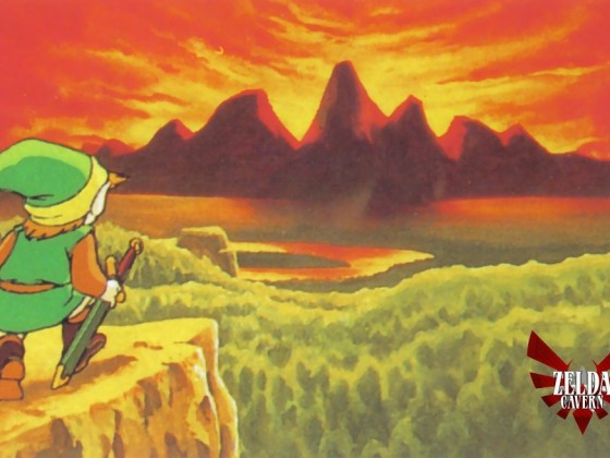 Legend of Zelda - NES- Official Art